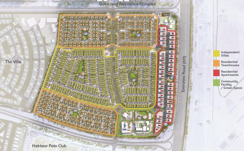 أراضي واحة دبي لاند