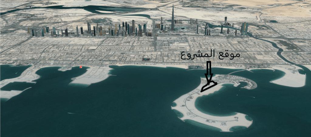فلل امالفي دبي جزيرة خليج جميرا