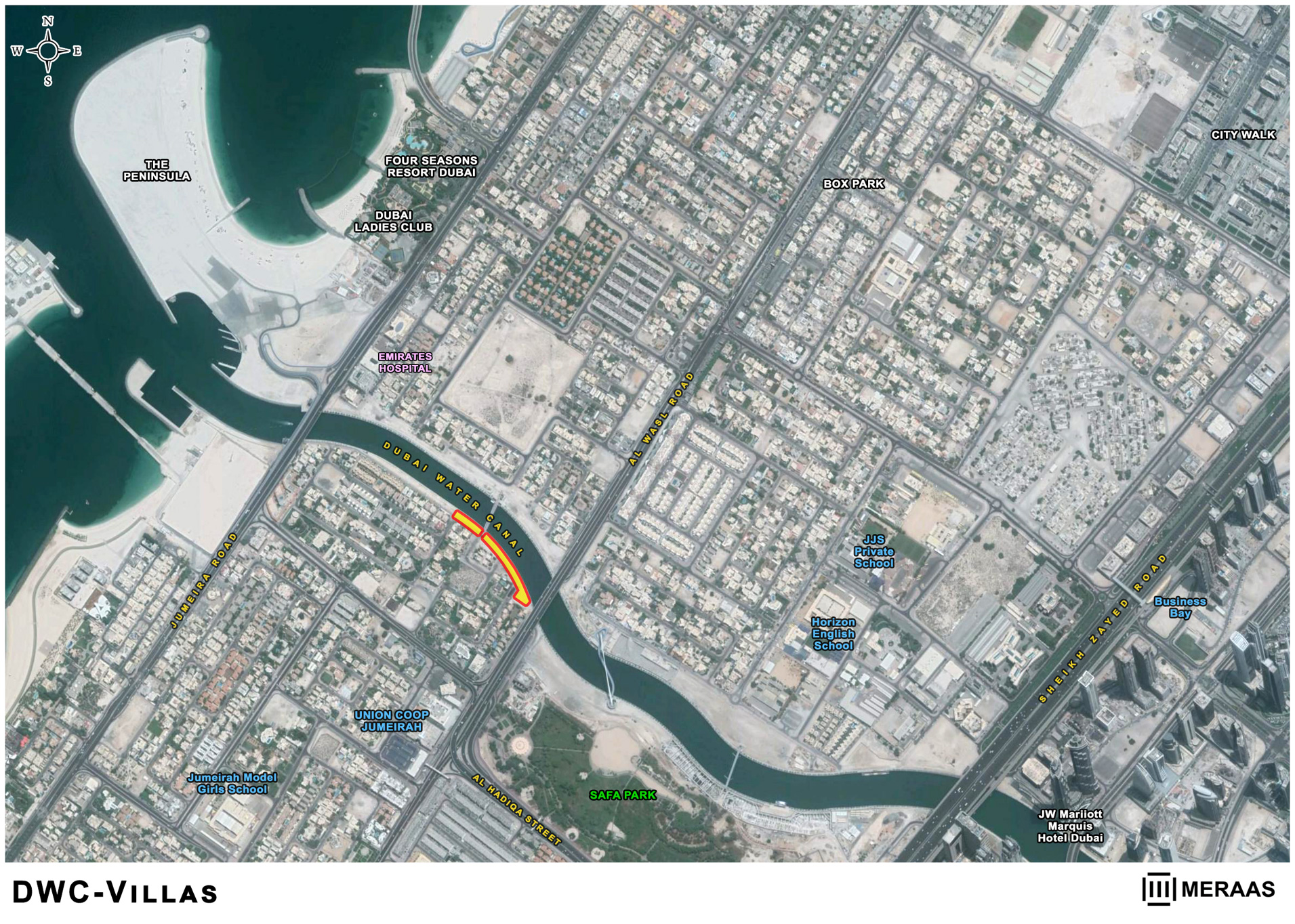 Dubai Water Canal Plots